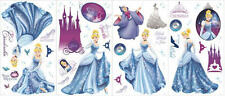 CINDERELLA wall stickers 50 decals Disney princess slipper coach Fairy Godmother