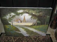 """Vintage Original Oil Painting on Canvas ~ Kenneth Golightly ~ 24"""" X 18"""""""