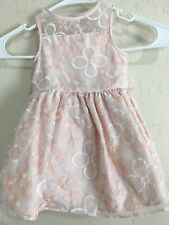 $65 PIPPA & JULIE Pink DRESS WITH Panty 12 MONTH NEW Sleeveless 7968