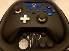Personnalisé Officiel Xbox One Elite Controller-Blue Edition-Custom/PUCE