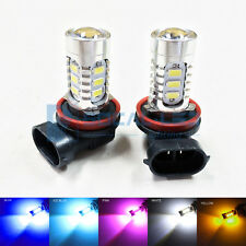 2x NEW H11 H8 15W High Bright Car LED Bulb 5730 15-SMD Daytime Running Fog light