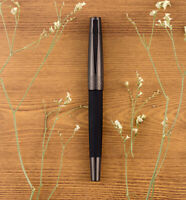 Regal 69 Black Metal Copper Fountain Pen Andrew Series Office Writing Ink Pen