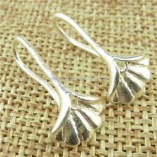 13820 10Pair Copper Earring Findings Pinch Bail Earring Hook Wire Jewelry Making