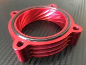 (X739-BR) RED Throttle Body Spacer  for 2015 - 2019 Hyundai SONATA SANTA FE 2.4l