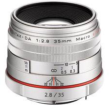 Pentax HD DA 2,8 / 35 mm Macro Limited Objektiv Neuware silber