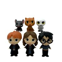 6 Funko Mystery Minis Harry Potter Series 1 Lot Ron Hedwig Scabbers Crookshanks