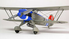 Giant  1/5 Scale German Heinkel HE-51 Biplane Plans and Templates 89ws