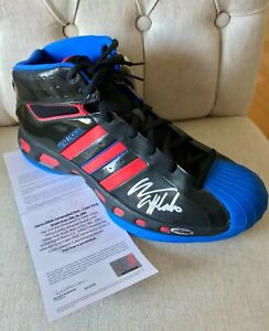Aaron Afflalo Signed Adidias Player Model Sz 18 Shoe w/Upper Deck Authentication