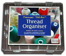 Starlite Sewing Thread Box/Organiser - Holds 30 large reels - Extra Tall - A871