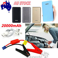 12V 20000mAh Portable Car Jump Starter Pack Booster Charger Battery Power Bank