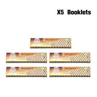5 Booklets HORNET HONEY Flavored 110MM Cigarette Rolling Papers King Size