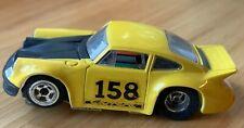 TYCO PRO Carrera  Porsche #158 Yellow / black