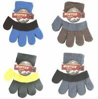 Wholesale lot of 12 Children's Kids Knit Winter Gloves Warm Great looking unisex