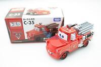 Tomica Takara Tomy Disney Movie PIXAR CARS 2 C-35 Rescue Squad Mater Diecast Toy
