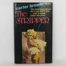 The Stripper by Carter Brown (1982) Fiction Book