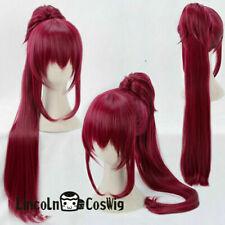 Puella Magi Madoka Magica Kyoko Sakura Halloween Cosplay Party Wig N15