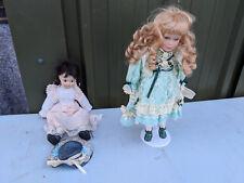 Pair of porceline dolls TC150818N