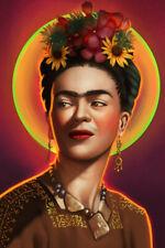 Frida Kahlo Self Portrait Art Wall Indoor Room Outdoor Poster - POSTER 24x36