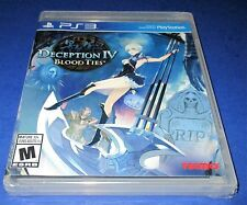 Deception IV: Blood Ties Sony PlayStation 3 *Factory Sealed! *Free Shipping!