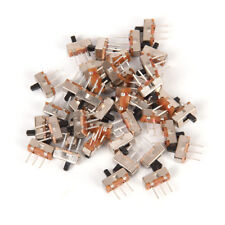 40x3 Pin SS12D00G3 2 Position SPDT 1P2T PCB Panel Mini Vertical Slide Switch PNM