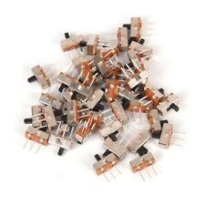 40X 3 Pin SS12D00G3 2 Position SPDT 1P2T PCB Panel Mini Vertical Slide Switch-DE