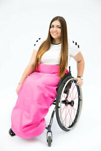 Wheelchair Rain Shield - Keep Your Legs Dry, 5 Colours to choose from