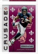 JORDAN HOWARD 2018 Rookies & Stars OPTICHROME PURPLE CRUSADE #56/65 BEARS