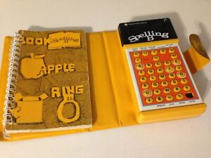 Texas Instruments Spelling B Learning Game COMPLETE! USA MADE! TESTED & WORKING!