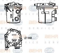 Mahle 8MO 376 725-721 ENGINE OIL COOLER MB (W124) GENUINE OEM WHOLESALE PRICE