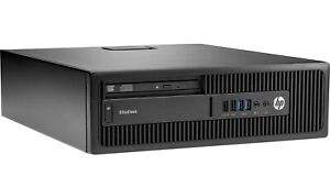HP EliteDesk 800 G1 SFF PC Intel i7-4770 3.4GHz 8GB 500GB HDD DVD-RW WIN 10