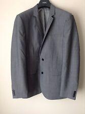 Next Men`s Wedding Grey Jackets Size 38R Slim Fit