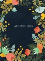 Address Book - Modern Floral Small by Mia Charro 9781631063794 | Brand New