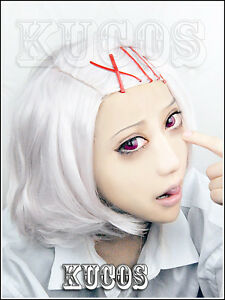 New Men's Short Silver White Cosplay Party Wig