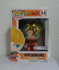 Dragonball Z Super Saiyan Goku Metallic Exclusive Funko POP! Anime LootCrate NEW