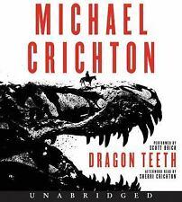 Dragon Teeth by Michael Crichton (2017, CD, Unabridged)