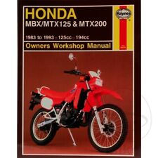 HONDA MBX/MTX125 & MTX200 1983-1993 Haynes Repair Manual 1132