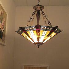 Chloe Lighting Tiffany Style Ceiling Pendant Lamp CH36847PM25-UH3