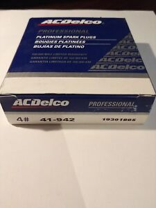 Spark Plug-Double Platinum ACDelco Pro 41-942  (4 Pack)