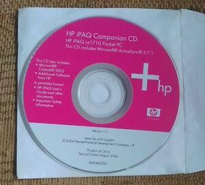 HP iPAQ Companion CD for HP iPAQ  rz1710 Pocket PC (366066-032)