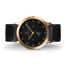 Lilienthal Berlin Uhr - Made in Germany - L1 Zifferblatt Schwarz Leder B-Ware