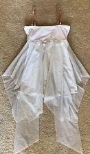 Natalie Dance Wear White Ballet or Lyrical Dance Costume Adult Size Medium