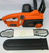 Black+Decker CS1216 12 Amp 16 in. Chainsaw New KL109
