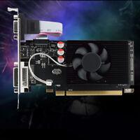 Am _ Gpu HD6450 2GB DDR3 HDMI Grafik Video Grafikkarte PCI Express für Spiel Bo