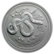 2013 Australia 1/2 oz Silver Year of the Snake BU (Series II)