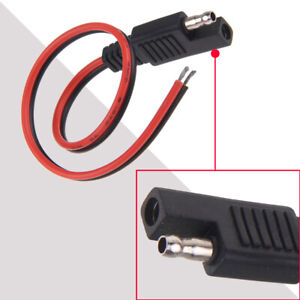 1x DIY SAE to SAE DC Power Automotive Connector Cable 2x0.75mm 30cm