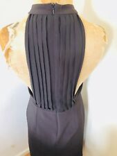Repeat Clothing Black A-Line Sleeveless Open Back Dress Size S