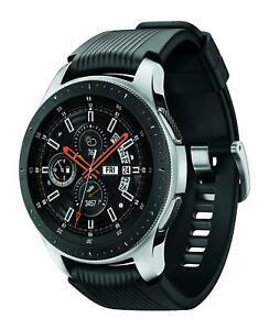 Samsung Galaxy Watch SM-R805U LTE  46mm Silver Case Classic Black B  stock