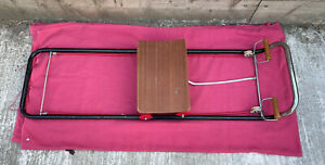 Vintage Retro Rowing Machine Bungee Cord Fitness Exercise Gym Equipment