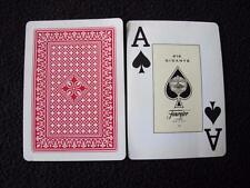 VINTAGE 1980's PACK OVERSIZED INDICES PLAYING CARDS -  FOURNIER 818 GIGANTE
