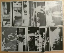 1987 NIGHT OF THE LIVING DEAD Rosem  29/50 Card Set Monster Horror